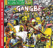 Gangbe Brass Band - Go Slow to Lagos [New CD] Digipack Packaging