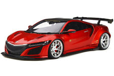 HONDA NSX LB-WORKS CANDY RED WITH CARBON TOP 1/18 MODEL CAR GT SPIRIT GT245