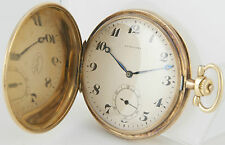 Longines Pocket Watch 6 Grands Prix Gold 18K - Year 1914 - 50mm