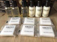 Ebony London Miniature Toiletry Set #2 Travel Size Honey & Mango FREE POSTAGE