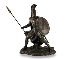 Leonidas Greek Warrior Spartan King Spear Shield Statue Sculpture Figurine