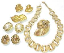 Gorgeous High End Signed Jewelry Lot Monet Trifari Napier One Demi