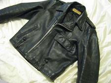 Harley Davidson Leather Bike Jacket Panhead Shovelhead 60s Police Cycle Champ 42