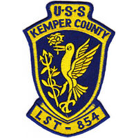 LST-854 USS Kemper County Patch