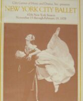 New York City Ballet 1978 Center Show Program