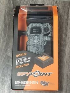 SPYPOINT 2020 LINK-MICRO-S-LTE-V Cellular Trail Camera ▪¤ New Sealed ¤▪