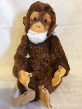 "Hermann Teddy Original 16"" Mohair Jocko Chimpanzee Monkey"