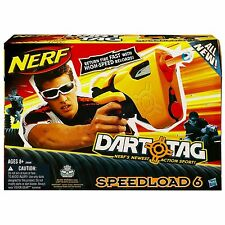 Brand New NERF N-Strike SPEEDLOAD 6 Dart BLASTER Dart Tag
