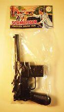 Vintage 1960's Schmeisser Friction Sound Plastic Gun - Hong Kong