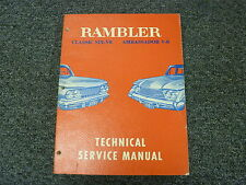 1961 Rambler Classic Six & Ambassador V8 Shop Service Repair Manual Sedan Wagon