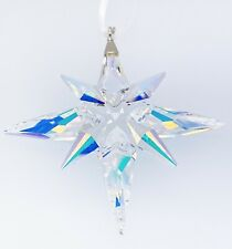 100% Swarovski Brand Violet Blue Crystals Star Ornament Display 5464868