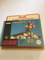 😍 rare paperboy 2 neuf blister rigide super nintendo new factory sealed snes
