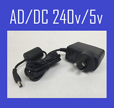 NEW 240V DC 5V Convertor Power Charger Supply AC/DC Adapter AU plug SAA*