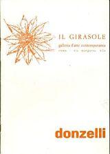 DONZELLI Bruno, Bruno Donzelli. Galleria Il Girasole