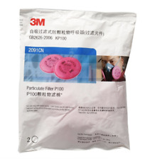 5pairs original 3M 2091 particulate filter P100 for 3M 6800 7502 6200 in stock