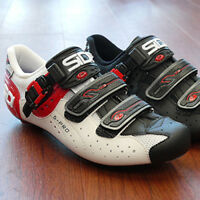 New SIDI Genius 5 Pro Carbon Road Bike Cycling Shoes White Black Red EU38-40