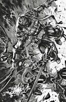 🔥✖️🗡 X-MEN #13 KAEL NGU CONNECTING B&W FULL VIRGIN Variant X Of Swords