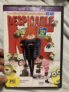 Despicable Me DVD Region 4  brand new sealed dvd region 4