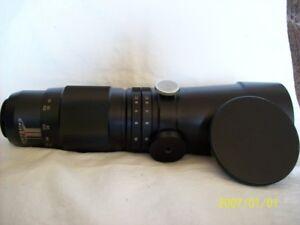 Vivitar 400mm  F:5.6 lens No. 69057  Vintage