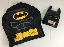 Lego Batman Costume Boys Medium NWOT Tunic Mask Halloween Dress Up DC Comics