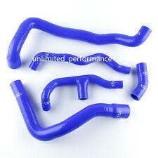 Blue For BENZ C-Class W203 C200K COUPE SPORT Kompressor 01-07 Silicone Hose Kit
