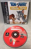 Tom and Jerry in House Trap (Sony PlayStation 1, 2000) - RARE COMPLETE & TESTED!