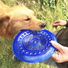 Soft TPR Frisbee Flying Saucer Puppy Pet Training Food Tray Kids Beach Toy