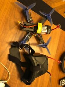 Racing Drone + FPV Goggles