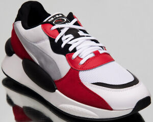 Puma RS 9.8 Space Mens Low White Casual Lifestyle Sneakers Shoes 370230-01