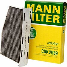 AUDI VOLKSWAGEN CABIN AIR FILTER CHARCOAL ACTIVATED MANN FILTER CUK 2939 OEM
