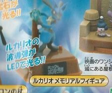 Yujin Tomy Pokemon AG Lucario and the Mystery of Mew Zukan Aura Sphere gashapon