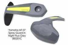 Yamaha MT07 / FZ07 (14+) Rear Spray Guard Hugger Alternative Night Fluo Grey