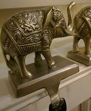 Pair of Elephant Key Hooks Key Holder Figurine Home Decor