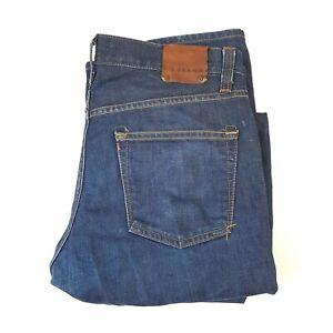 Mens J Brand Walker Relaxed Straight Leg Slim Fit Denim Jeans Size 32 L34