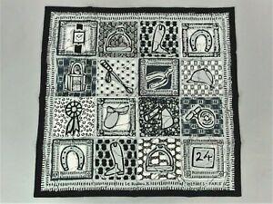 AUTHENTIC HERMES 2011 New Unused 70cm Petit Cotton Scarf LE BOUBOU H