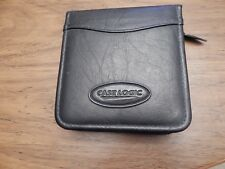 Black Case Logic 24 CD Carry Case/Wallet