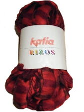 Katia Rizos Scarf Yarn 93 Red 100g  Free UK P&P