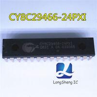 1PCS CY8C29466-24PXI IC MCU 32K FLASH 2K SRAM 28-DIP 8C29466 CY8C29466 new