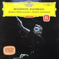 DG 138 805 Beethoven Symphony No. 6 / Karajan / BPO Tulip Excellent