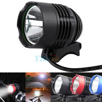 1200LM T6 DC LED Cycle Bike Front Lamp Bicycle Light Headlamp Headlight 3 Mode