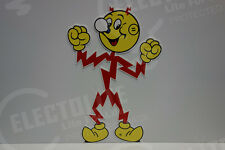 "Reddy Kilowatt Power Light Electric Lineman POPULAR ""HOORAY"" ELECTRICIAN GIFT"