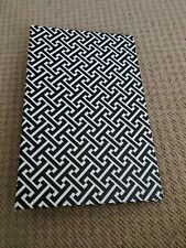 Photo album black and white  with photo slots inside  good condition