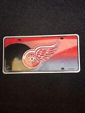 Detroit Red Wings Metal License Plate