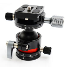 E2 Tripod Ballhead double Panoramic Head with Quick Release Plate For Camera