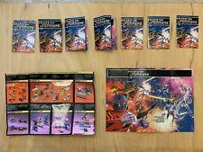 Original G1 Transformer Lot of Catalogs/Pts. 40pcs total. Fair - Good Condition
