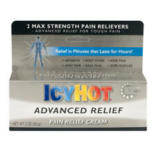 New Icy Hot Advanced Relief Pain Relief Cream 2.0 Oz.