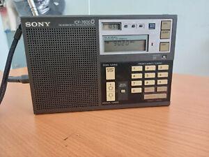 SONY ICF-7600D FM /LW/MW/SW PLL Receiver