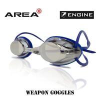 ENGINE WEAPON REFLEX BLUE SWIMMING GOGGLES, , SWIMMING GOGGLES