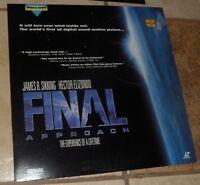 Laserdisc FINAL APPROACH  Laser disc Videodisc Very Good Widescreen Edition