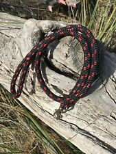 Dog lead. 1M Heavy Duty. made out of double braided Marine rope With Snap Clip.